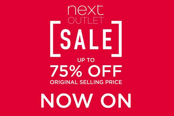 Next Outlet Sale Now On