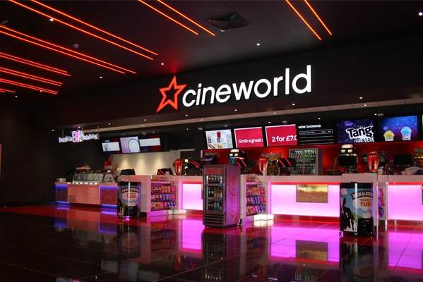 Cineworld Student Discounted Tickets £8.20