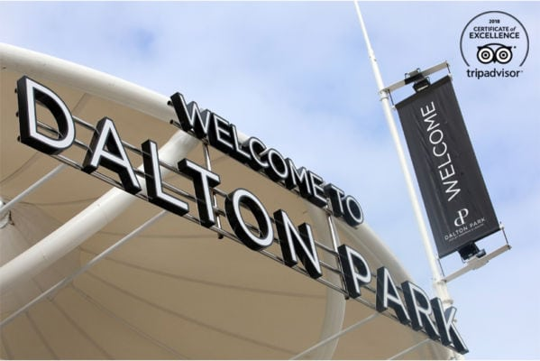 Dalton Park has bagged a TripAdvisor® Certificate of Excellence for 2018.