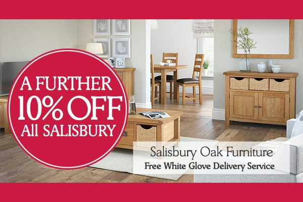 10% Off All Salisbury Furniture!