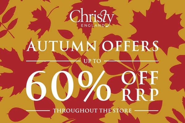 Autumn Offers, Up To 60% Off!