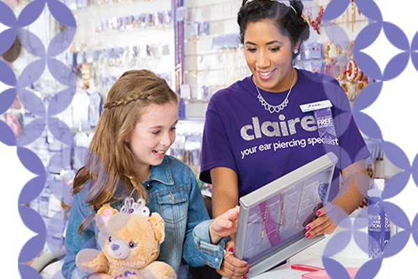 Claire's - Ear piercing from £25  - County Durham | Dalton Park