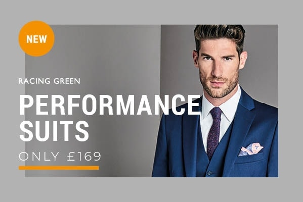 Racing Green Performance Suit Only £169