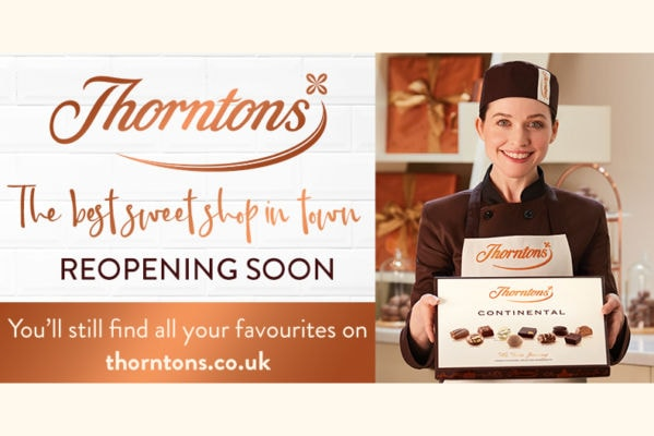 Thornton's are having a makeover