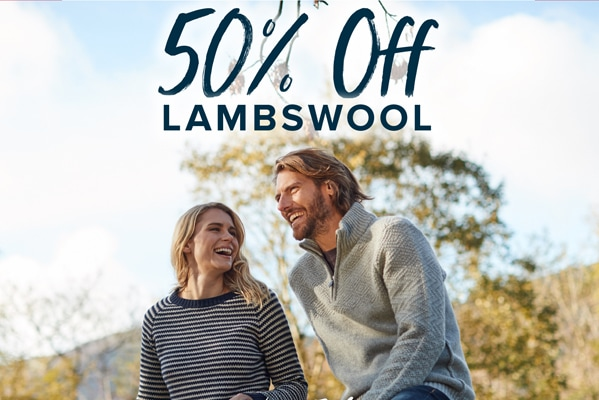 50% off Lambswool