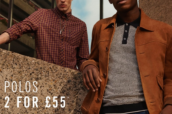 2 for £55 polos