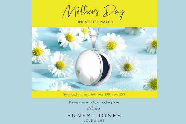 Mothers Day at Ernest Jones