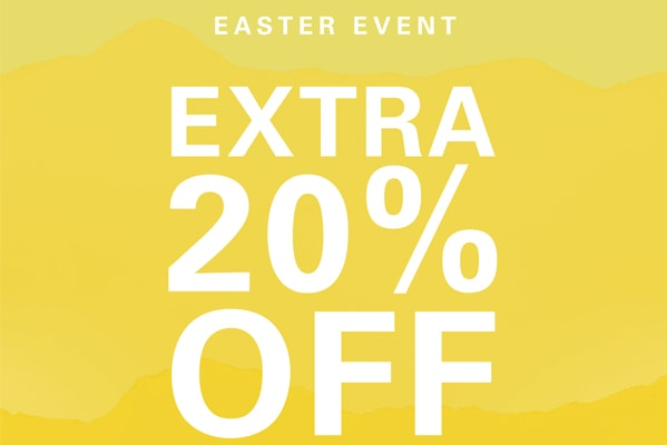 Extra 20% Off selected lines