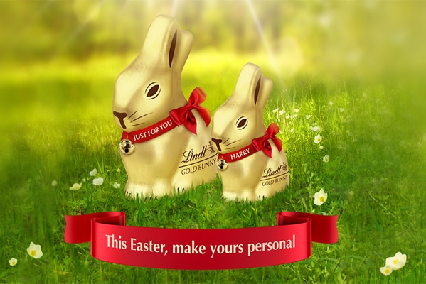 Personalise your Lindt Gold Bunny