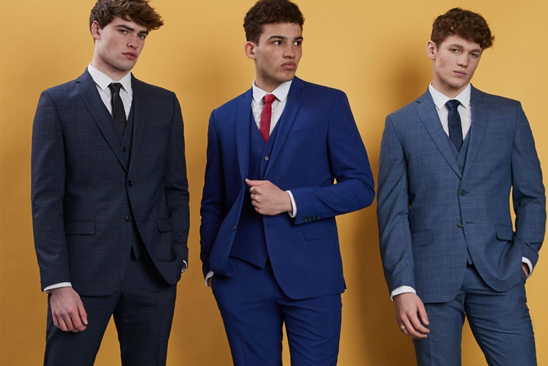 Limehaus brand suit, shirt & tie for £139