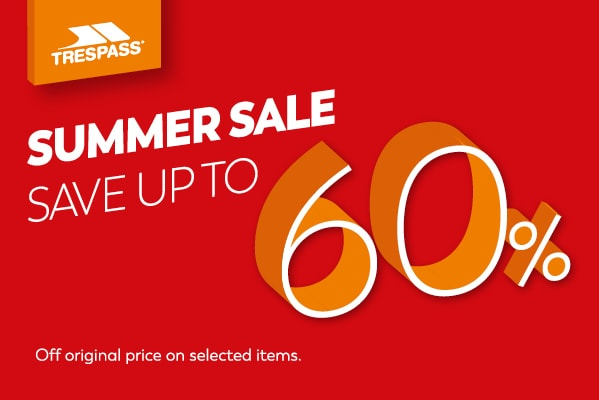 Trespass SUMMER SALE UP TO 60% OFF