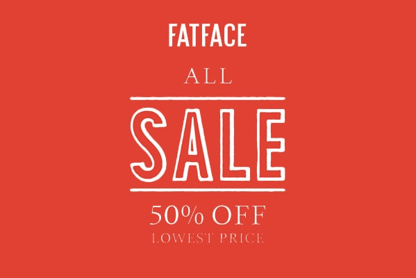Fat Face 50% OFF LOWEST PRICE