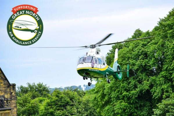 Our new charity partner | Great North Air Ambulance Service