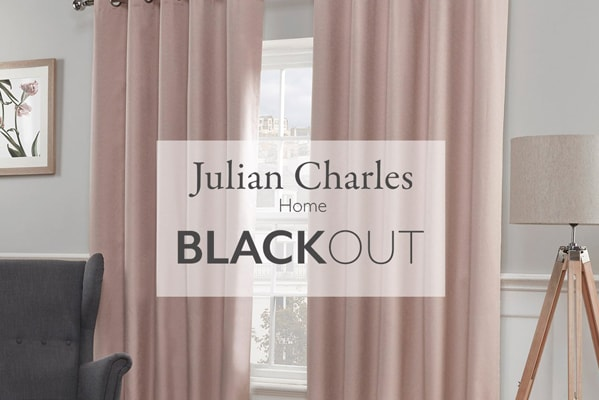 Julian Charles 50% off Blackout Curtain Collection