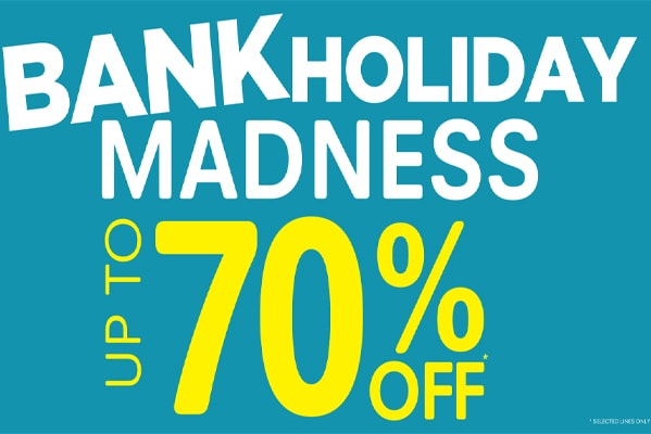 E-Newsletter Bank Holiday Madness at Craghoppers
