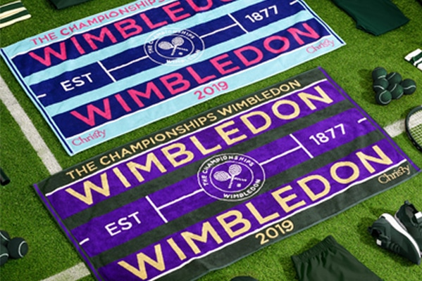 Christy Wimbledon Championship Towels 2019 now £17