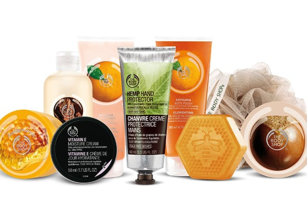 The Body Shop 30% off across the store