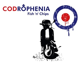 Codrophenia Tea Time Special | 2 Cod & Chips £15