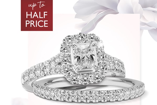 Ernest Jones Up to half price on selected diamonds, jewellery and watches