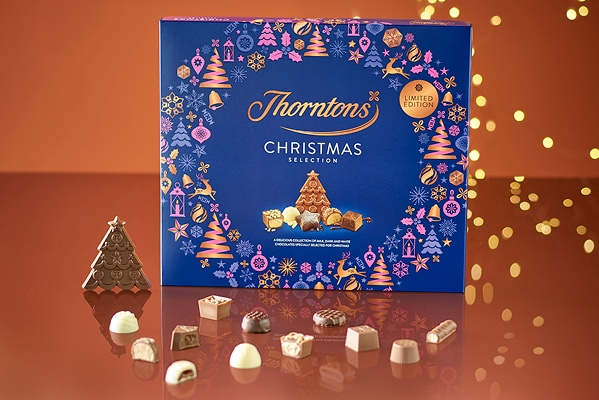 Thorntons FREE Christmas Selection Box when you spend £30