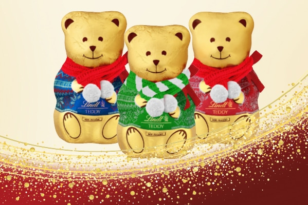 Lindt Purchase a Teddy 200g in store and receive a FREE scarf!