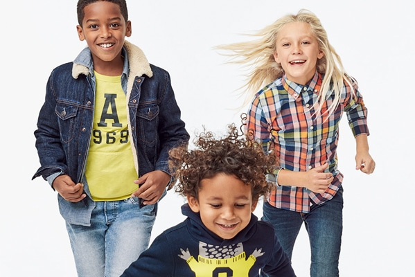 GAP Outlet Up to 50% off absolutely everything +50% off logo for the family