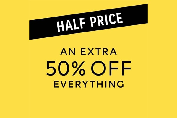 M&S Outlet An extra 50% off Everything