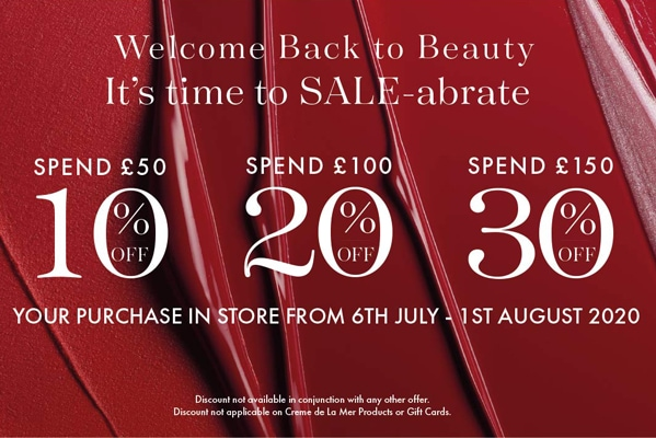 E-Newsletter Extra discounts to SALE-abrate