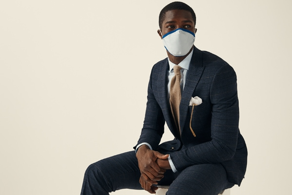Moss Bros The Moss masks  100% cotton   3 for 2