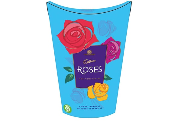 Cadbury Buy one get one free on roses