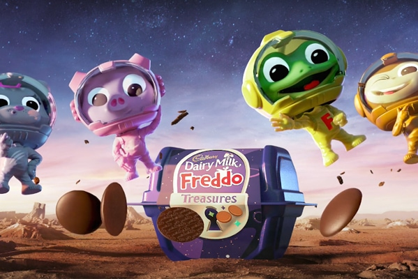 Cadbury Dairy milk freddo treasures now instore