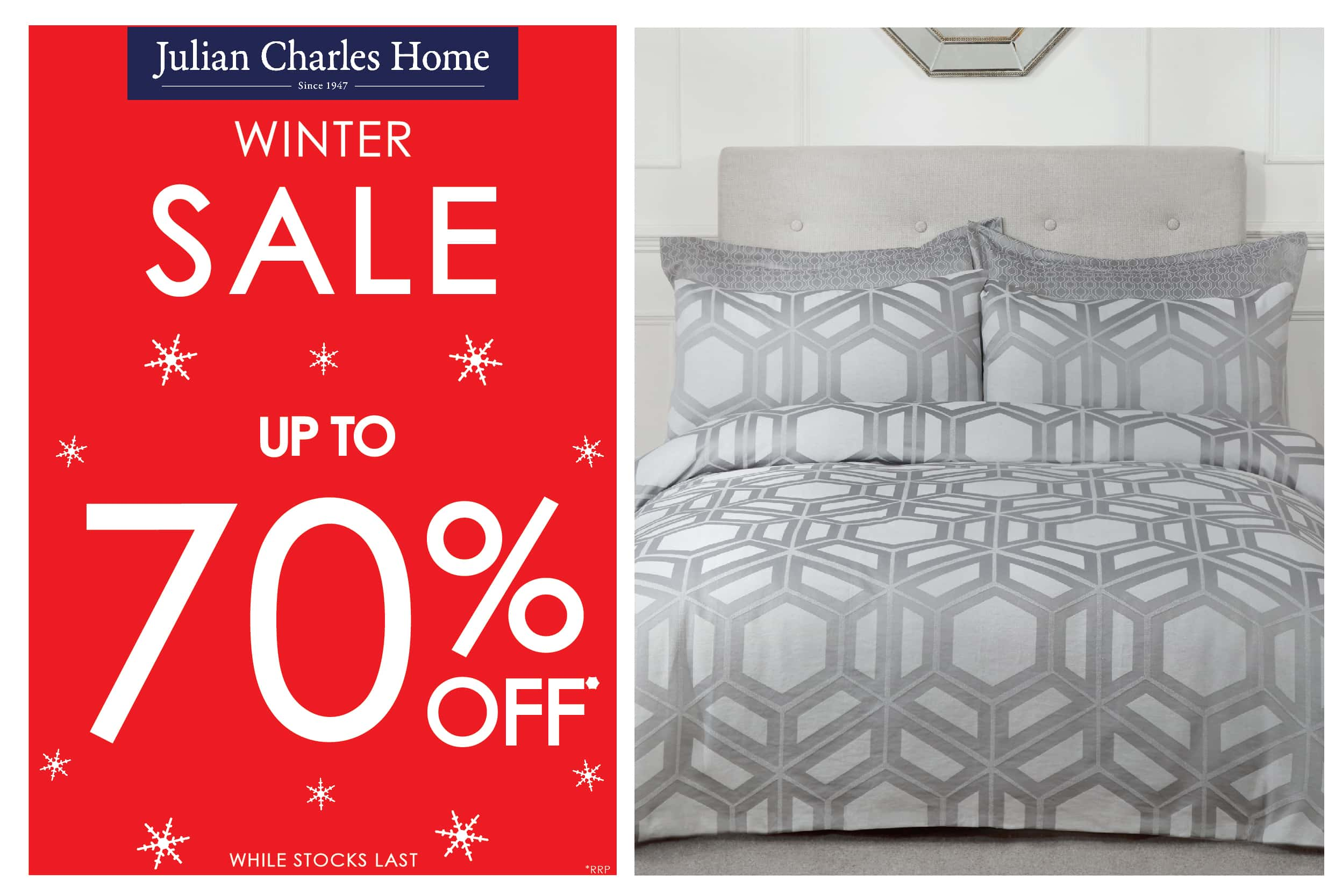 Julian Charles Winter Sale | Up to 70% off