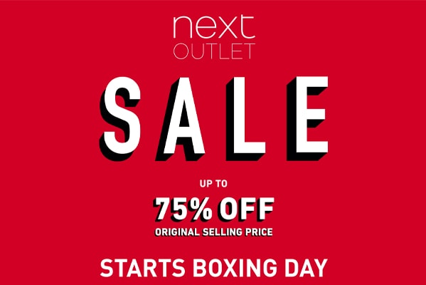 Next Outlet Up To 75% Off