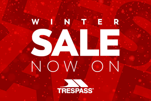 Trespass Winter Sale Now on