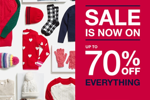 GAP Outlet Sale now on!
