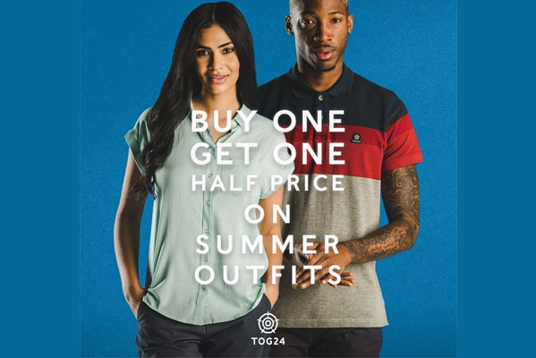 Tog 24 Buy one get one half price on summer outfits