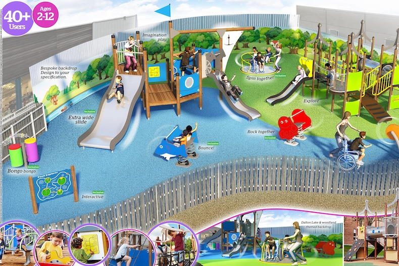 Investment in new play area