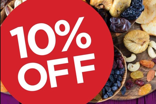 Grape Tree 10% off when you spend £50