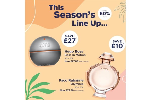 The Fragrance Shop This Seasons Sale