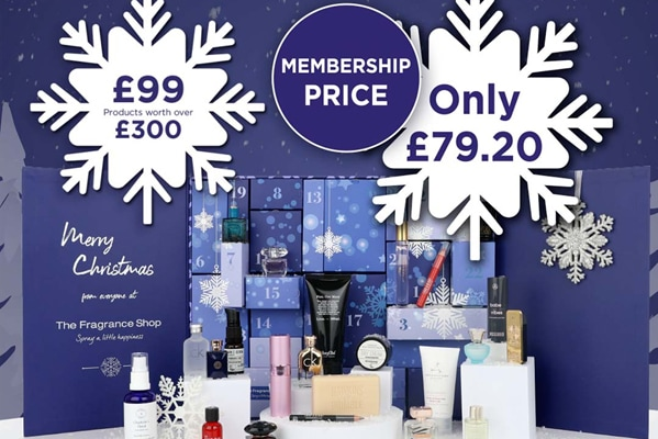 The Fragrance Shop Advent calendar now in stock!
