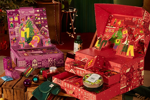 The Body Shop Advent Calendars now in stock!