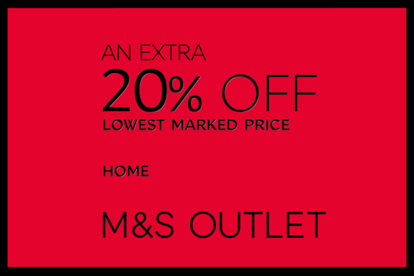 An extra 20% off lowest marked price on all home products