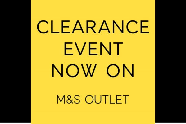 Clearance Event Now On
