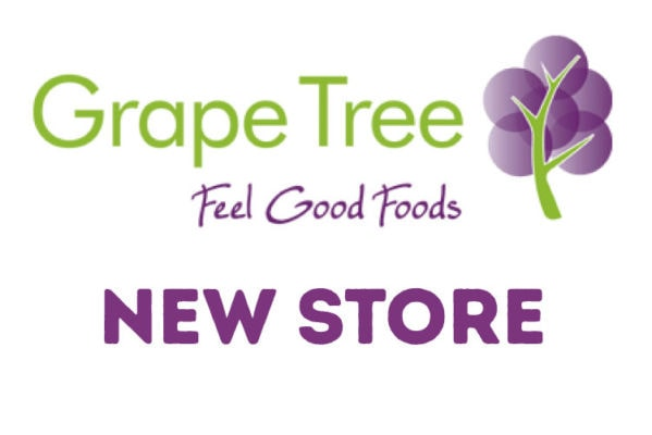 Grape Tree - New Store - LV   what's on