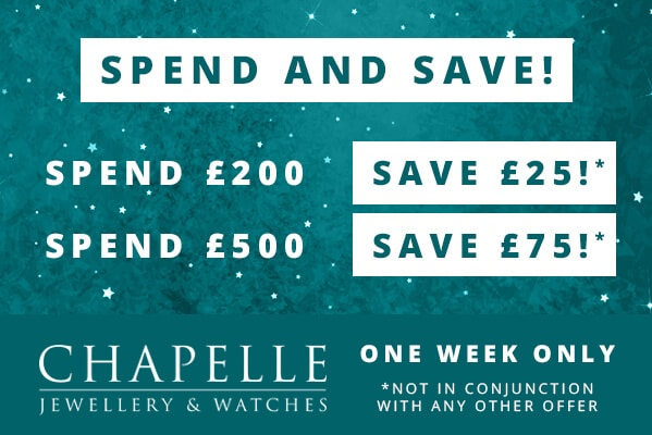 Spend & Save Event 12 – 18 Nov Only