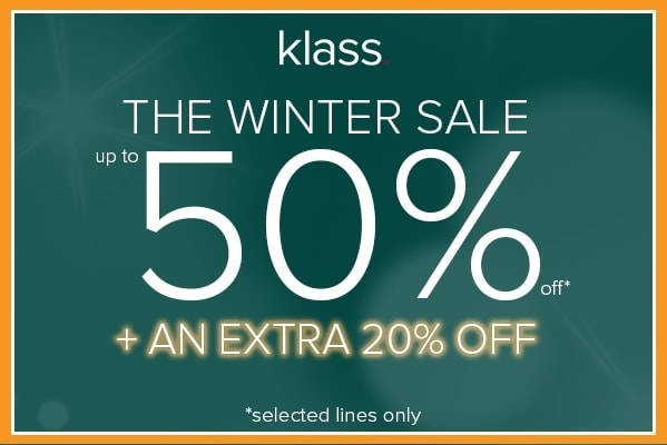 Winter Sale Now With An Extra 20% Off