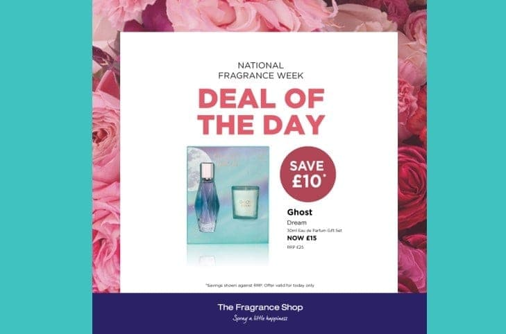 National Fragrance Week – Daily Special Offers