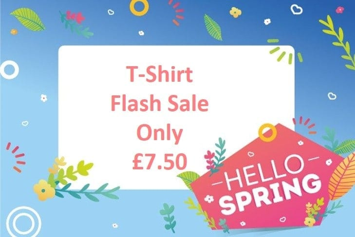 Hello Spring – T-Shirt Flash Sale