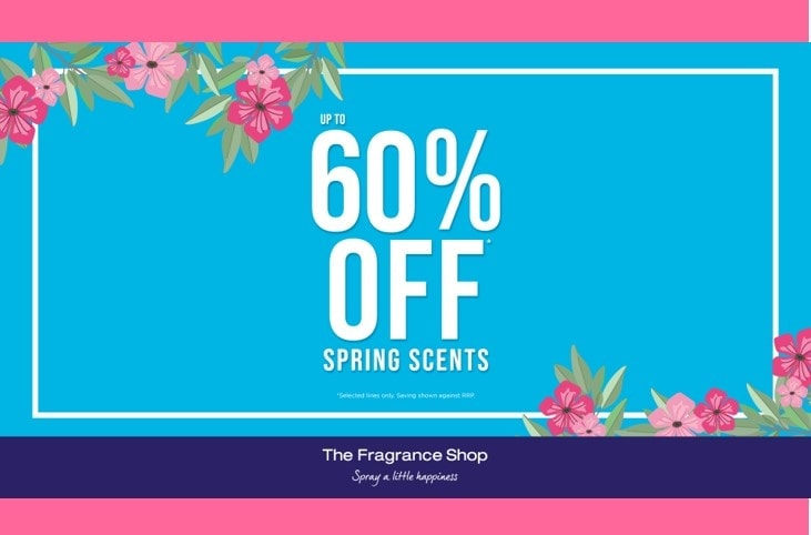 Up to 60% off Spring Scents