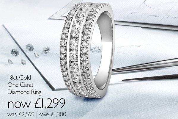 Ernest Jones Up to half price on jewellery and watches